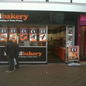 Poundbakery - Stoke on Trent - Hanley