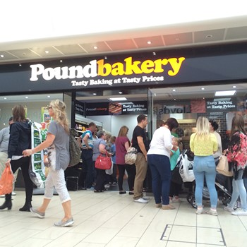 Poundbakery - Sheffield - Crystal Peaks