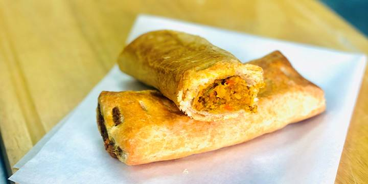 Vegan Friendly Veg Curry Roll is back